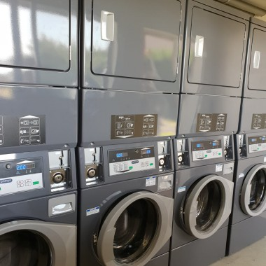 Colonne de lavage et séchage